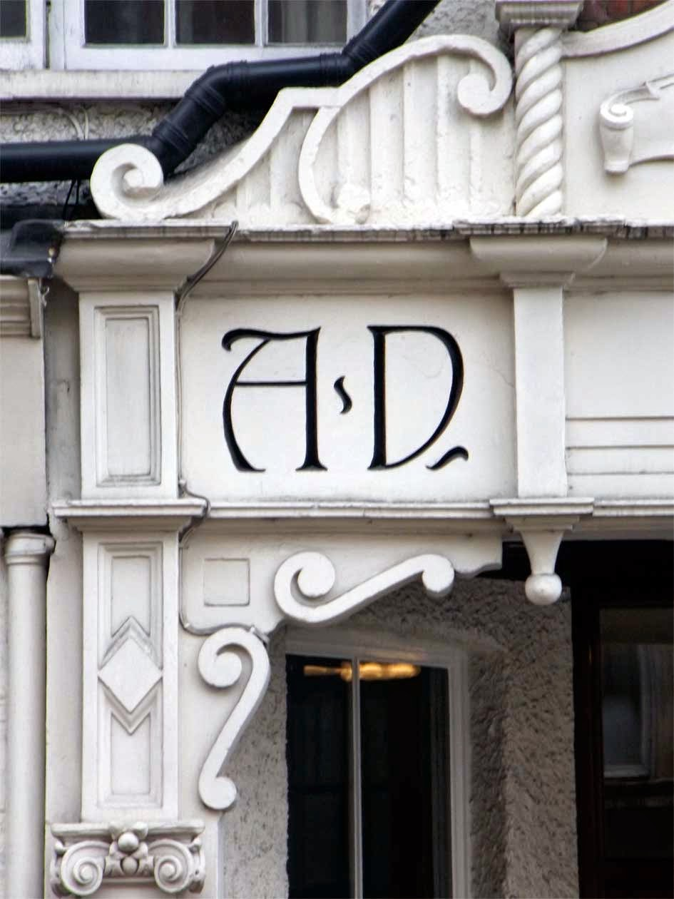 university mansions typography putney