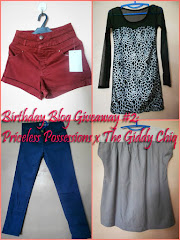 Birthday Giveaway #2: Priceless Possessions x The Giddy Chiq