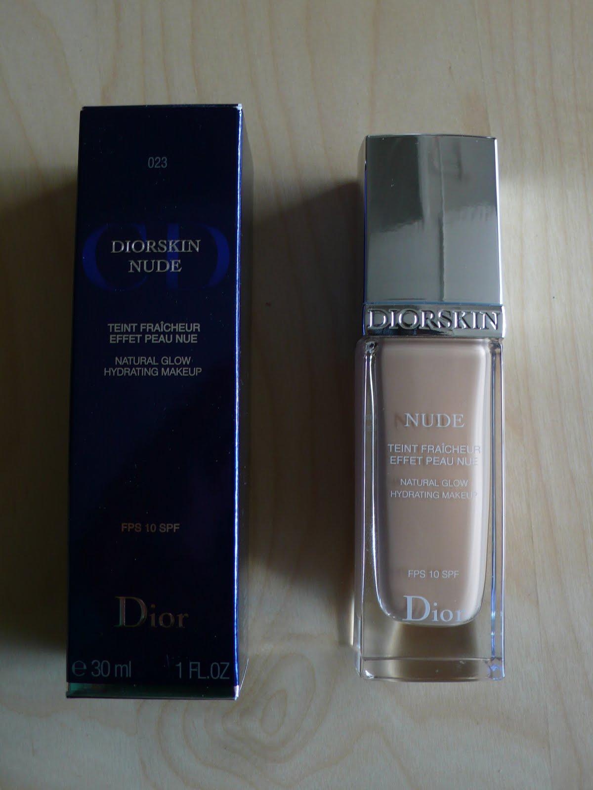 Christian Dior Diorskin Nude Natural Glow Fresh Polvos