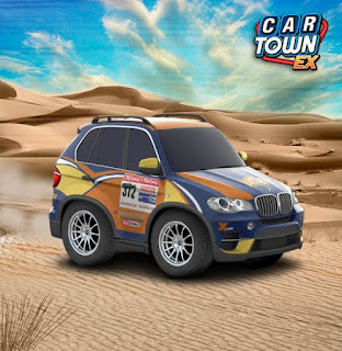 BMW X5 2011 X Raid team Dakar