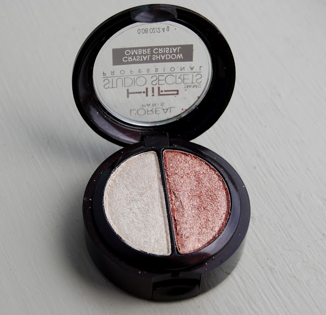 L'Oreal HiP Studio Secrets Professional Crystal Shadow Duo in Precious