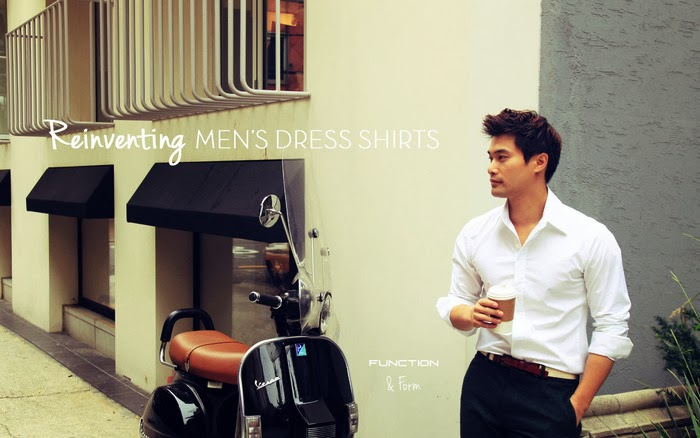 New Revolutionary Men's Dress Shirts from Function & Form