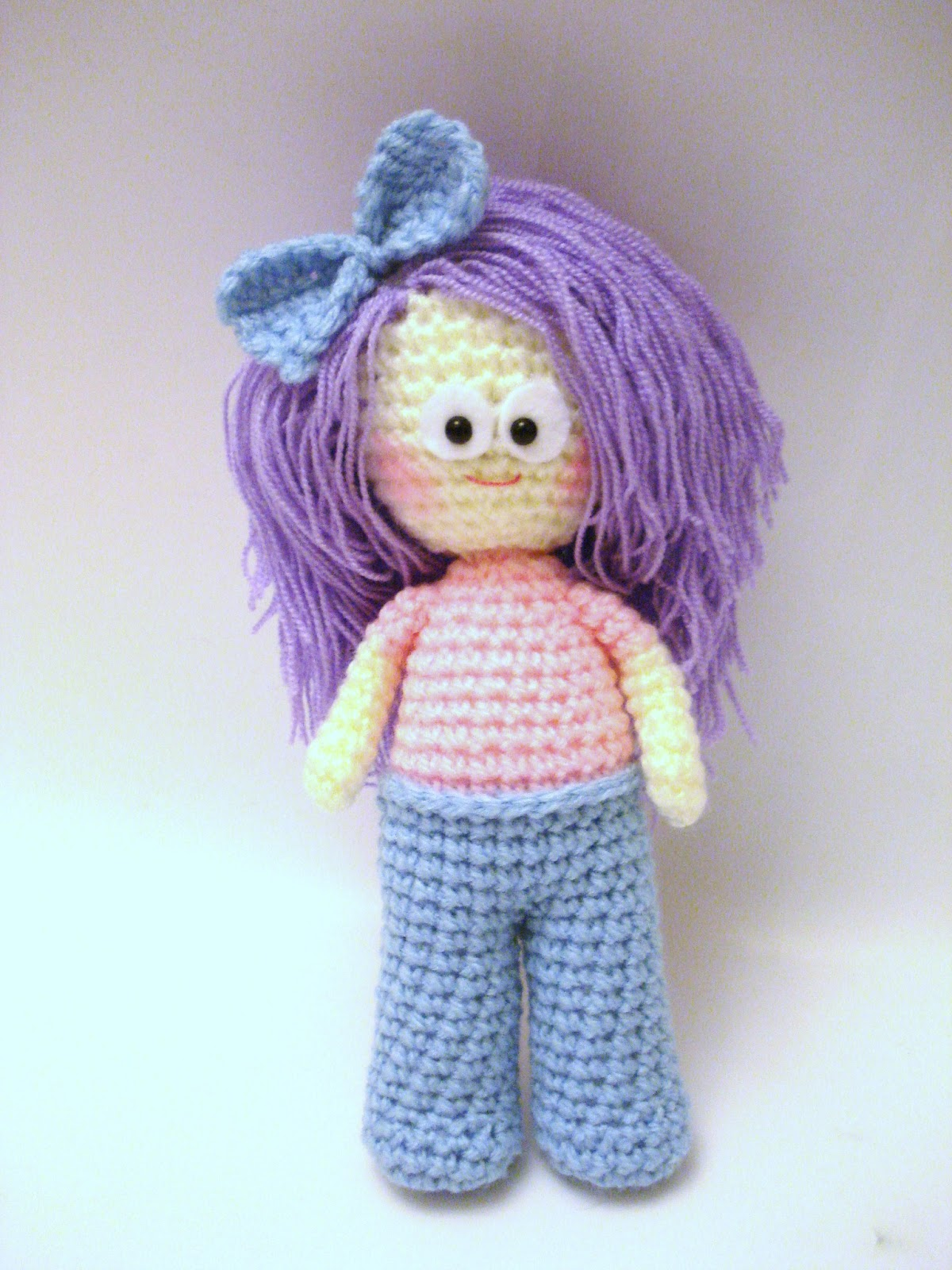 AllSoCute Amigurumis: Crochet Girl, Doll Pattern ...