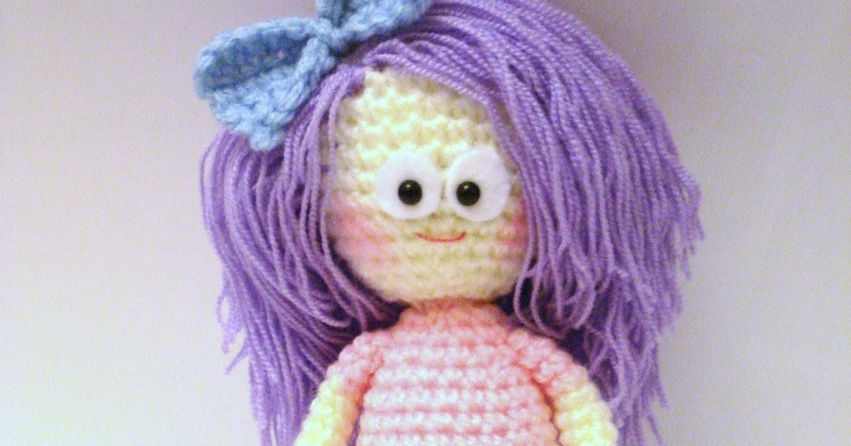 AllSoCute Amigurumis: Crochet Girl, Doll Pattern ...