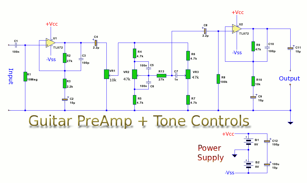 rangkaian amplifier 2 1