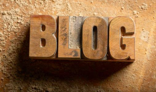 "Picture of the word ""Blog"""
