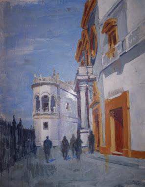 "exterior de la Maestranza ""calle Circo"""