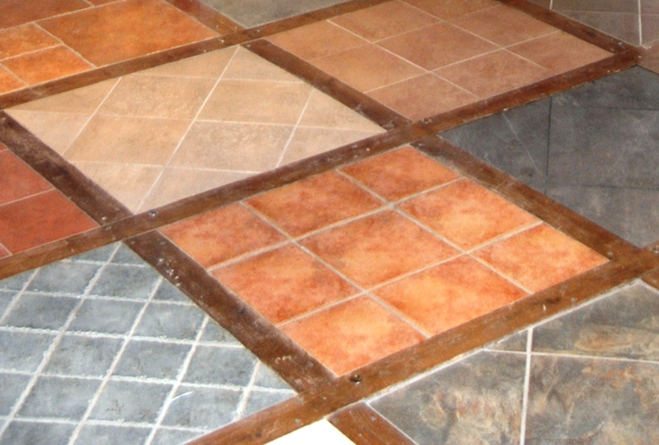 Modern Interior Design Linoleum Basement Floor Tiles