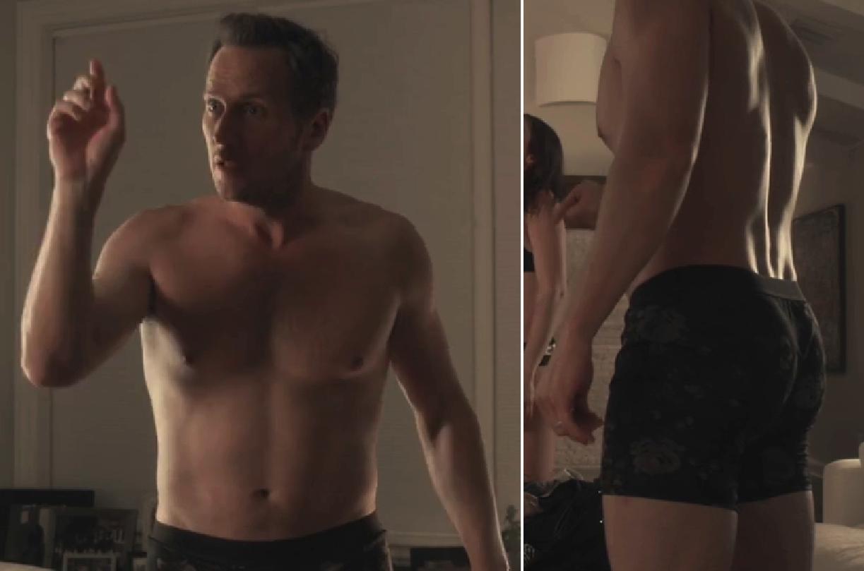 naked Patrick wilson butt