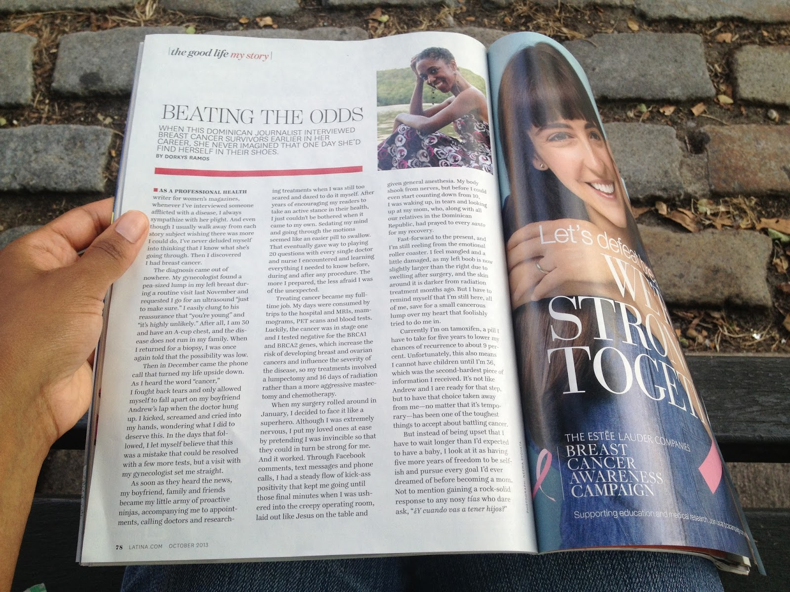 dry as toast my breast cancer essay in latina magazine my breast cancer essay in latina magazine