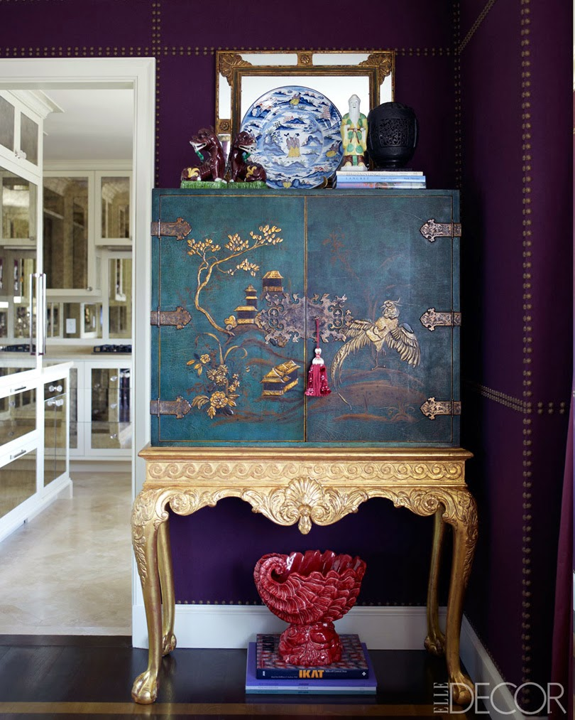 Chinoiserie chic chinoiserie then and now and mystery for Asian room decoration