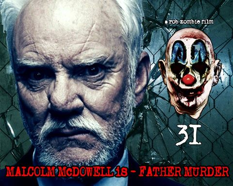 Malcolm McDowell character poster