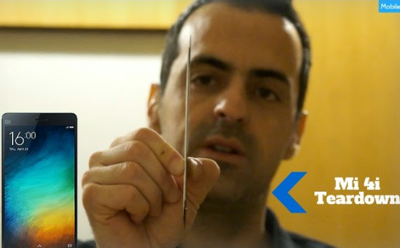Xiaomi Mi 4i: Τeardown δια χειρός Hugo Barra [video]