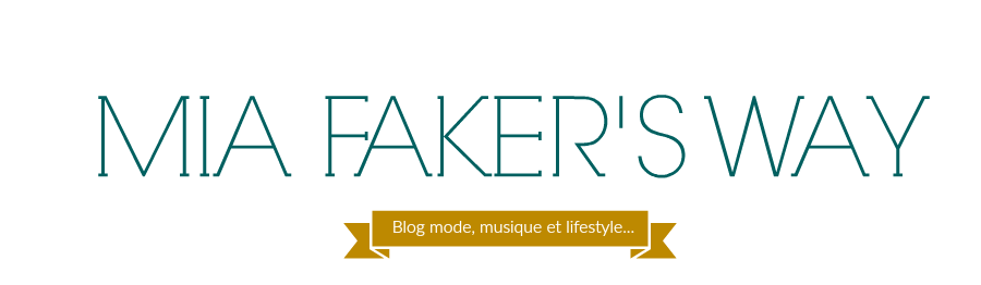 Mia Faker's Way - Blog mode Angers, lifestyle etc