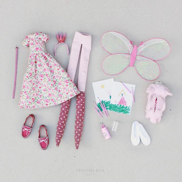 розовая одежда для куклы