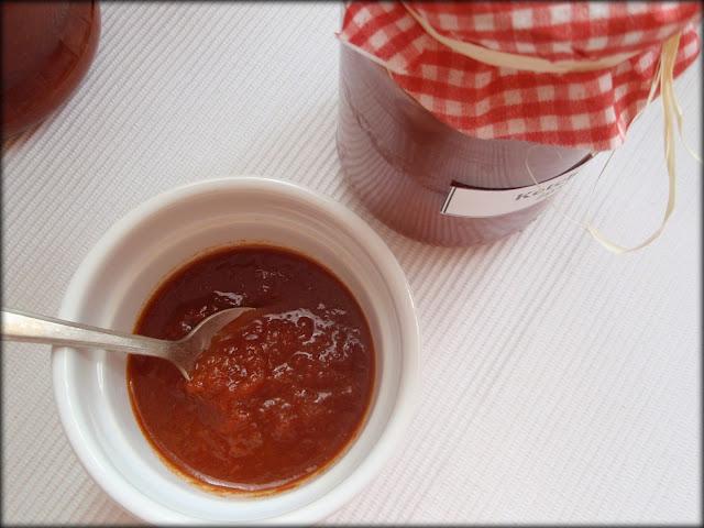 ketchup domowy, jak zrobić ketchup
