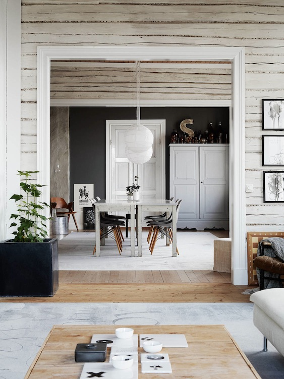 a truly incredible swedish country home in monochrome my scandinavian home bloglovin. Black Bedroom Furniture Sets. Home Design Ideas