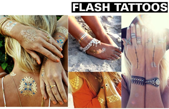 Spring/Summer 2015 Fashion Essentials fashion tattoos
