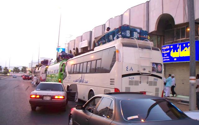 Bus Transportasi Haji