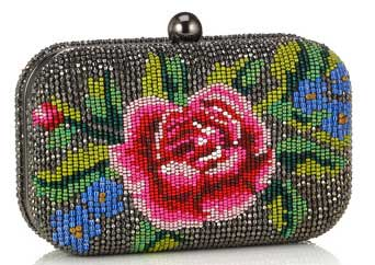 accessorize suzie rose hardcase clutch