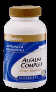 alfalfa, keputihan