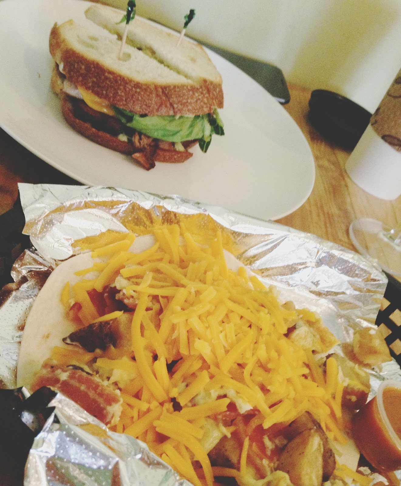 houston - kraftsmen baking - brunch - taco - blt