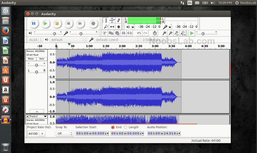 Watch How to Align Tracks in Audacity video