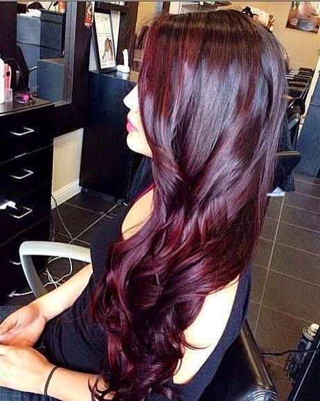 Y Ombre Purple Clip In One Piece Long Straight Hair Extension