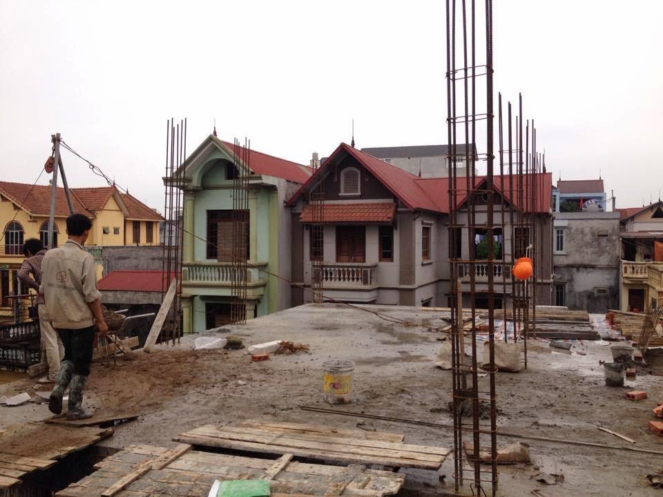 Cập nhật tiến độ dự án cư xá mini Nhật Tảo 6 của Hanoiland đến ngày 15/3/2015