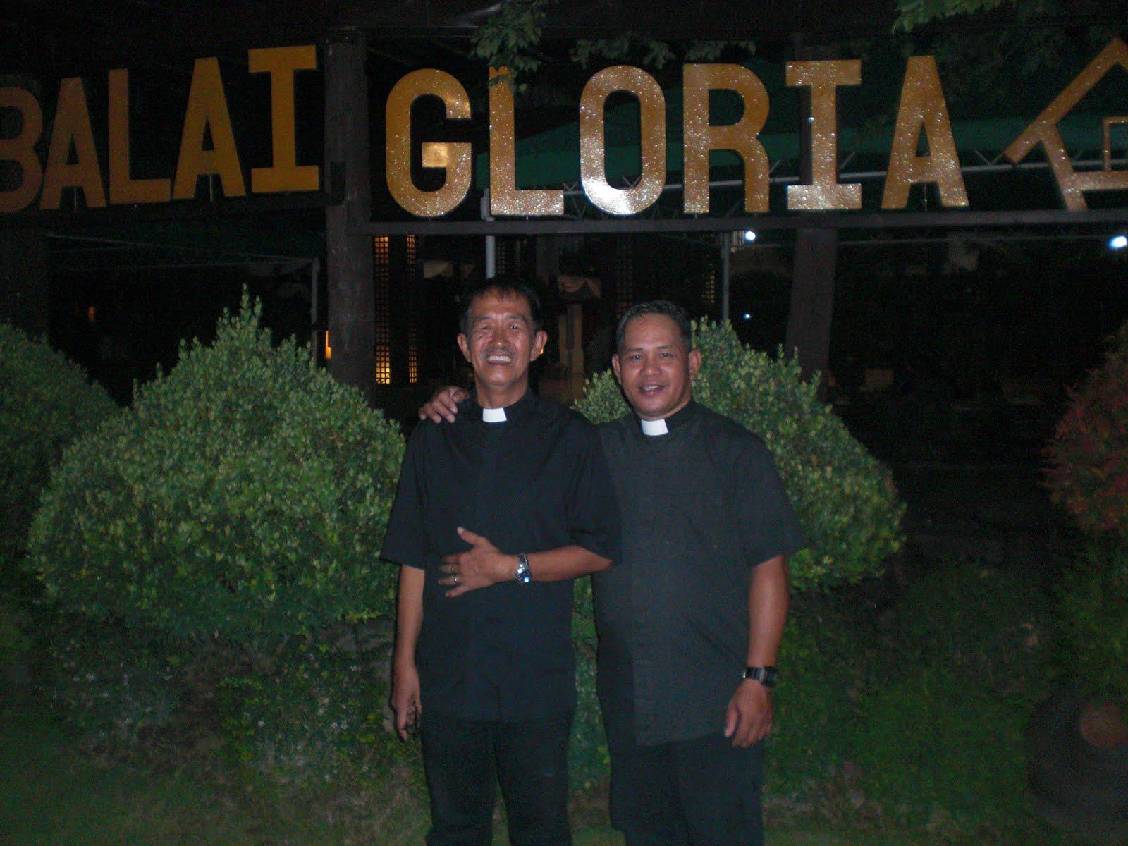 Rev.Fr. Robert C.Gerna and Rev.David S. Mundares