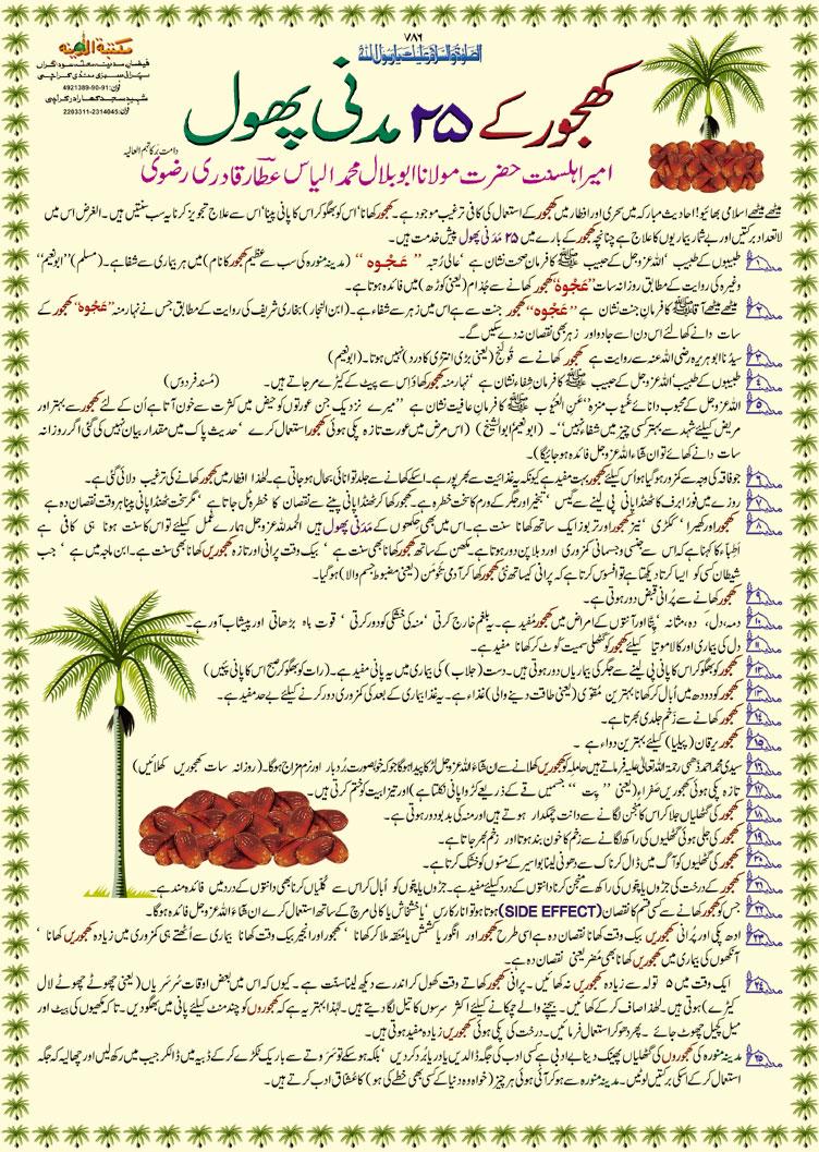Khajoor Kay Fawaid (Benifits of Dates Fruit)