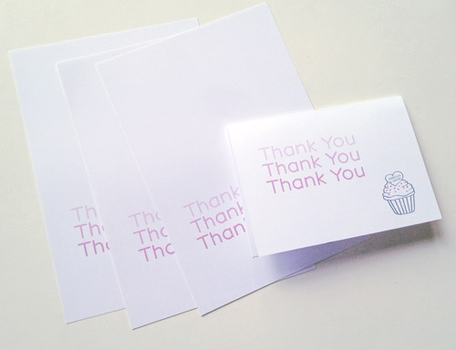 Wedding Thank You Card No Gift : ... busy today printing and writing my wedding gift thank you cards