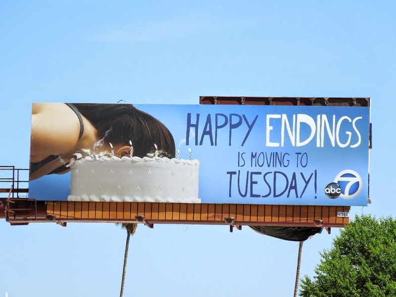 Happy Endings season 3 billboard Sep 2012