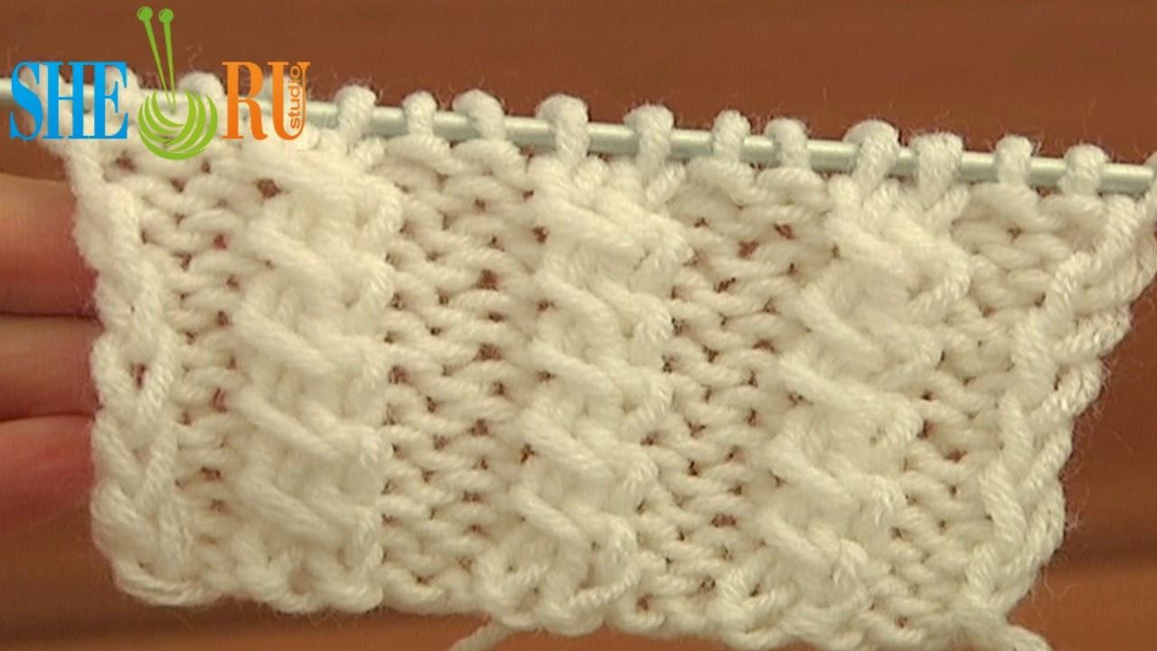 Sheruknitting: Front Cross Cable Stitch Pattern Knitting Tutorial 11
