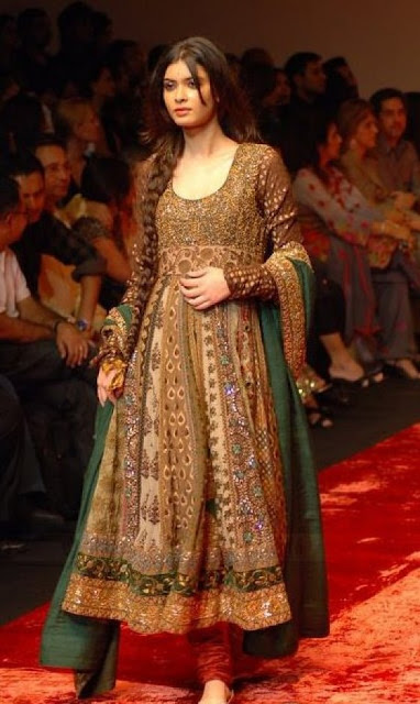 Churidar Pajama with Anarkali Frok 2012