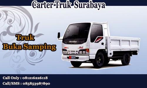 Carter Truk Bak Buka Samping Surabaya