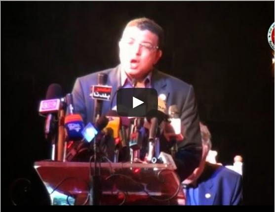 هانى كمال المتحدث الإعلامى لوزارة التربية و التعليم -  فيديو للمتحدث الإعلامى يطالب فيه بتأييد المعزول يثير غضب المعلمين ويطالبون الوزير بعدم  استمراره متحدثاً إعلاميا للوزارة