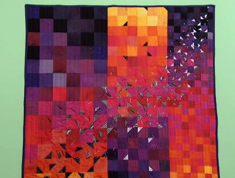 Como fazer tapete de patchwork
