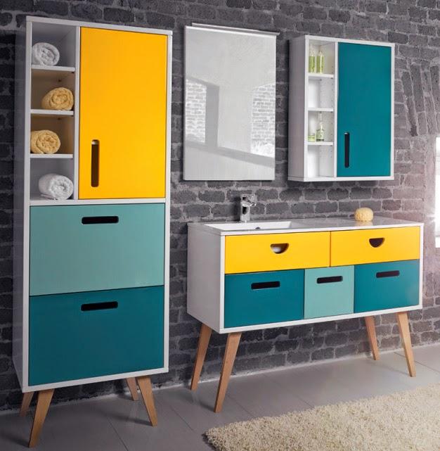 Коллекция мебели Dreja Retro для ванной комнаты