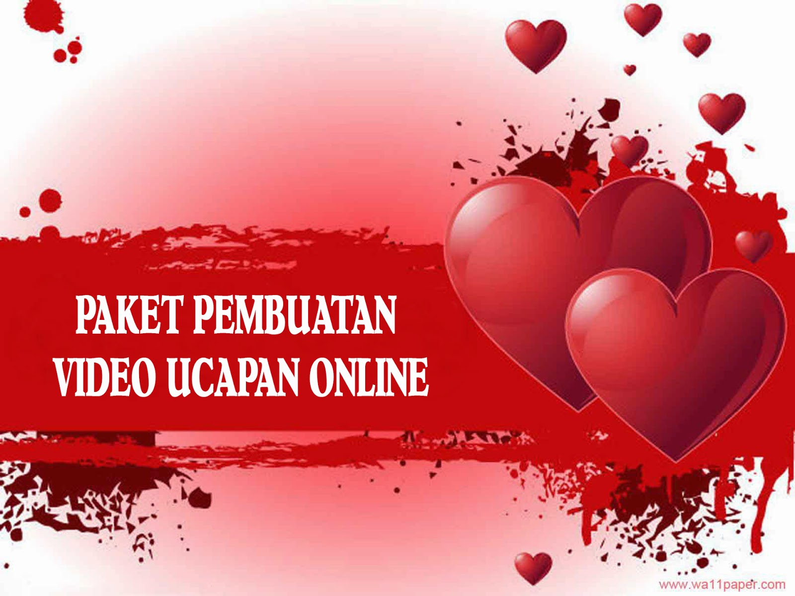 JASA VIDEO UCAPAN ONLINE