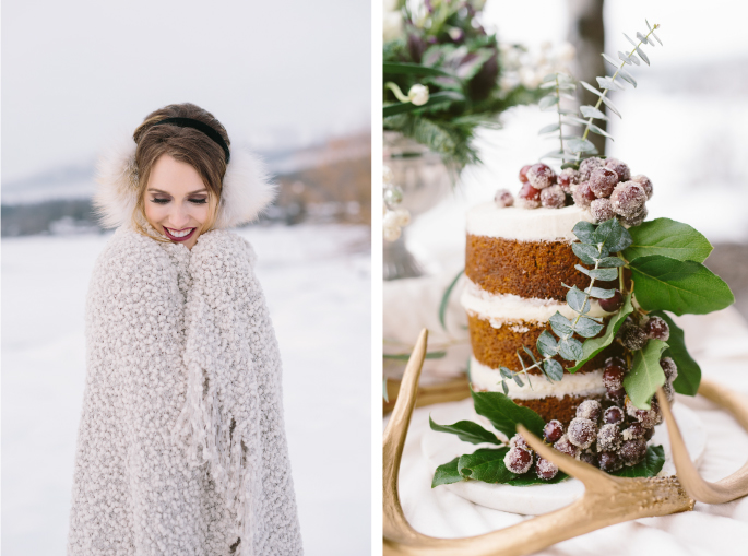 Montana winter wedding ideas photography by Dina Remi