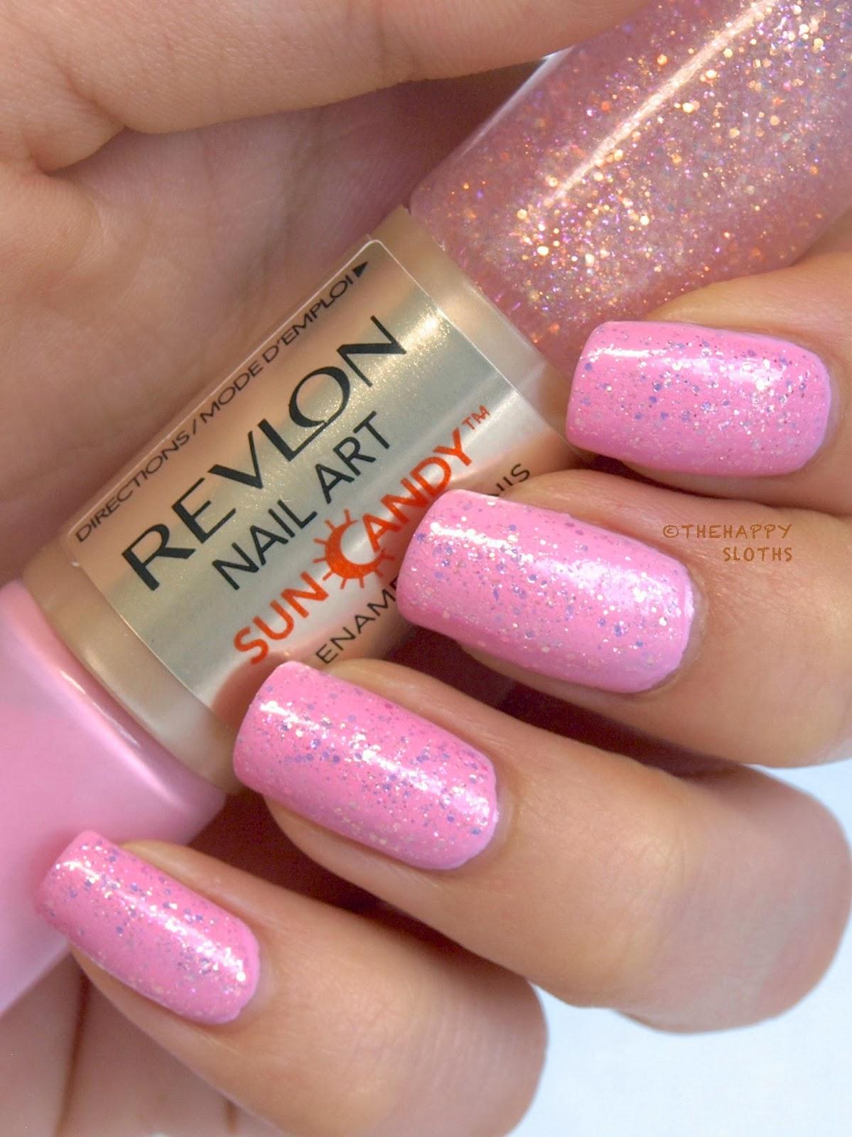 Revlon Nail Art Sun Candy Nail Enamel in \