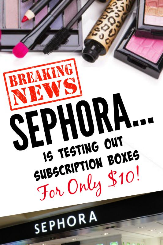 Beauty News: Sephora Is Testing Out Subscription Boxes For Only $10 A Month, By Top Beauty Blogger Barbie's Beauty Bits