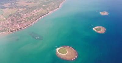 Objek Wisata Pulau Angso Duo Pariaman Sumatera Barat (Sumbar)