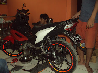 HONDA BLADE 110 CC TUNE UP