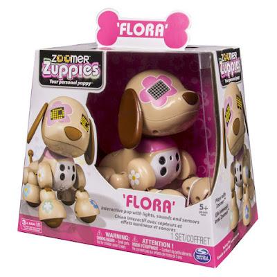 TOYS : JUGUETES - ZOOMER Zuppies  Flora : Chispas  Perro Robot | Mascota Electrónica Interactiva  Producto Oficial | Bizak - Spin Master | A partir de 5 años  Comprar en Amazon España & buy Amazon USA