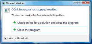 "Mengatasi ""COM Surrogate has stopped working"" Di Windows 7"