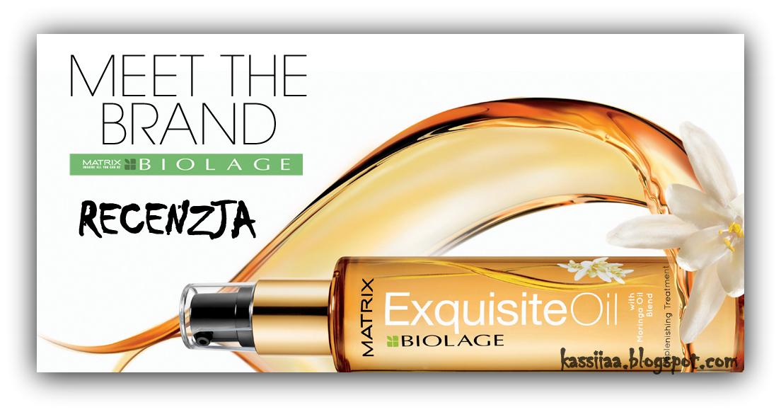 Matrix, Biolage Exquisite Oil, Replenishing Treatment (Olejek odbudowujący do włosów)** Recenzja ** Sekret pięknie błyszczących włosów **