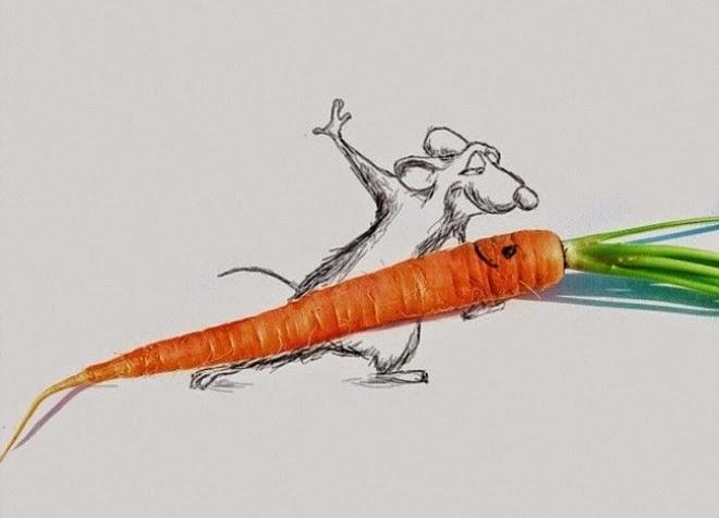 Những bức tranh vẽ nghệ thuật hài hước đầy sáng tạo