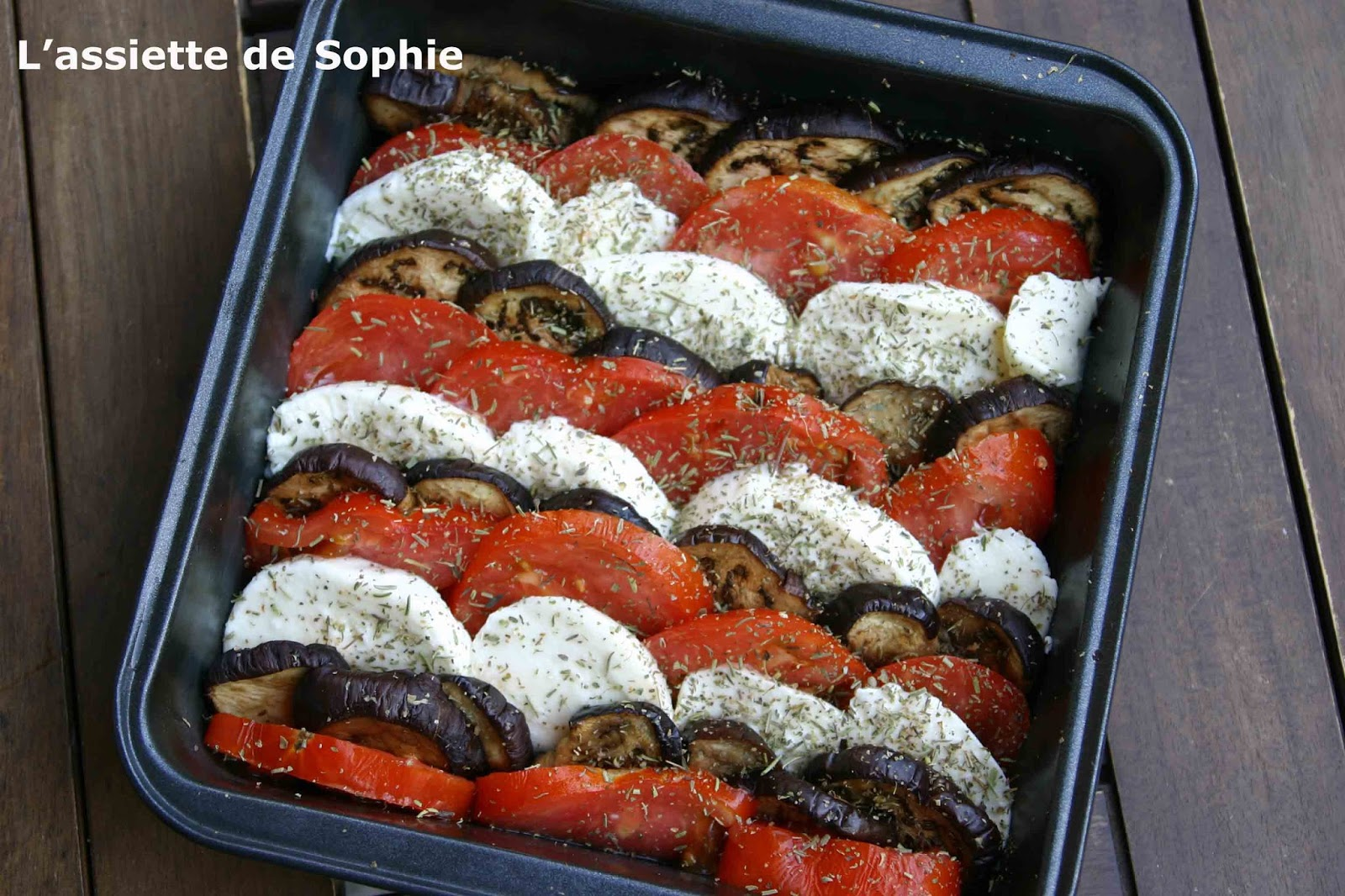 L 39 assiette de sophie aubergines l 39 italienne - Aubergine grillee a l italienne ...